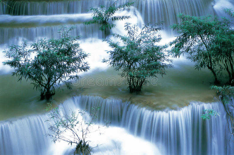 Download Waterfall in Thailand stock image. Image of park, heaven - 32010955