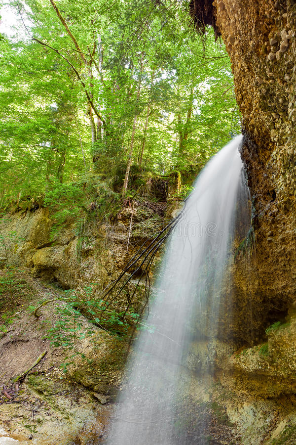 Download Waterfall stock image. Image of landscape, bavaria, travel - 83724389