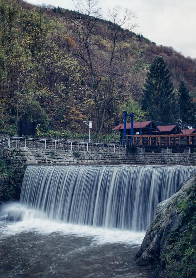 Waterfall in Vucje .Serbia royalty free stock image