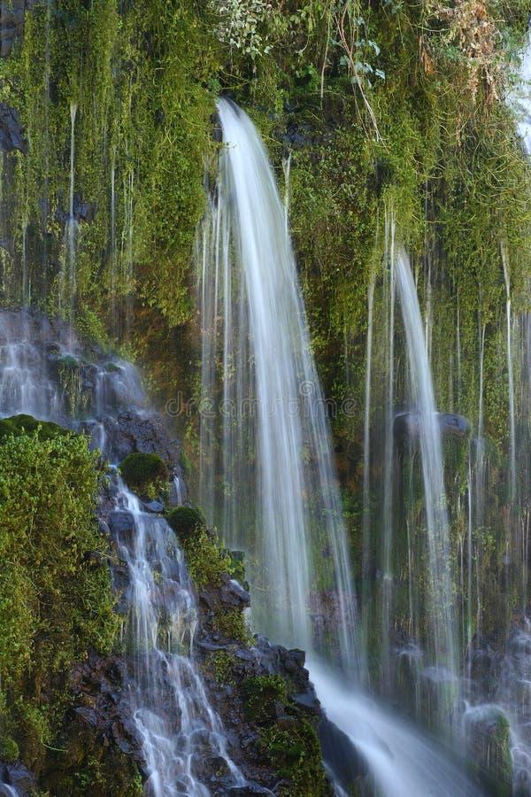 Waterfall Wall stock photography