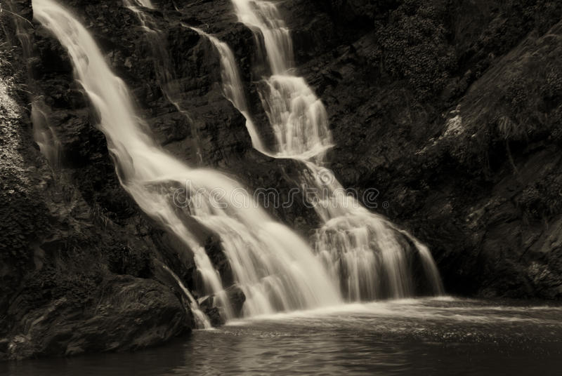 Waterfall At The Walter Sisulu Botanical Gardens Stock Photos