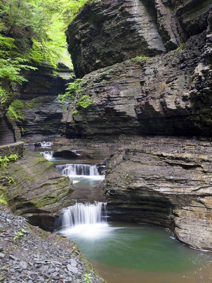 Download Waterfall Watkins Glen State Park Stock Image - Image: 32430427