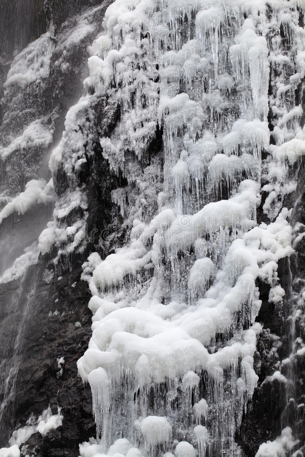 Download Waterfall In Winter Stock Images - Image: 28757524