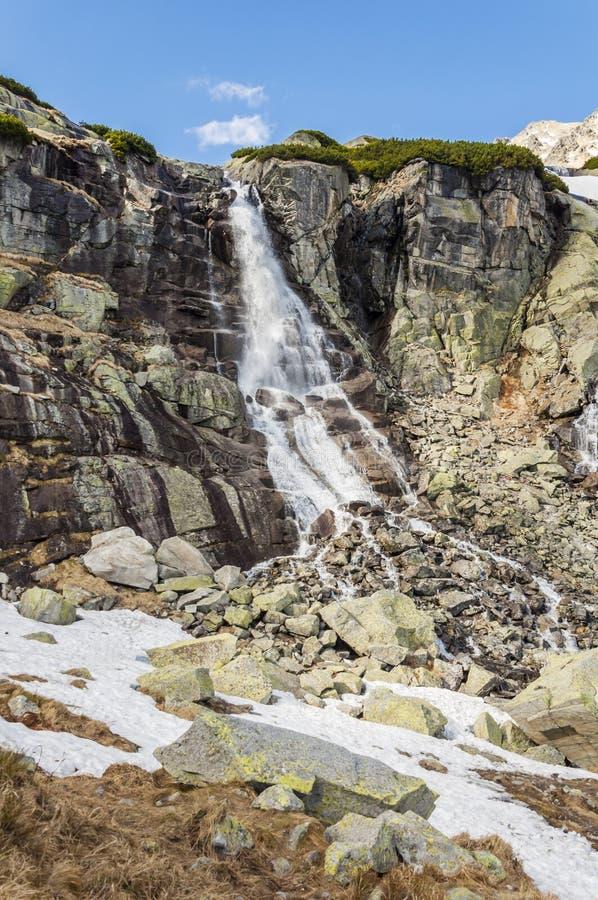 Waterfall - Wodospad Skok (vodopad Skok, Skok) stock image