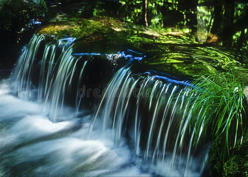Waterfall in Yosemite, California royalty free stock photo
