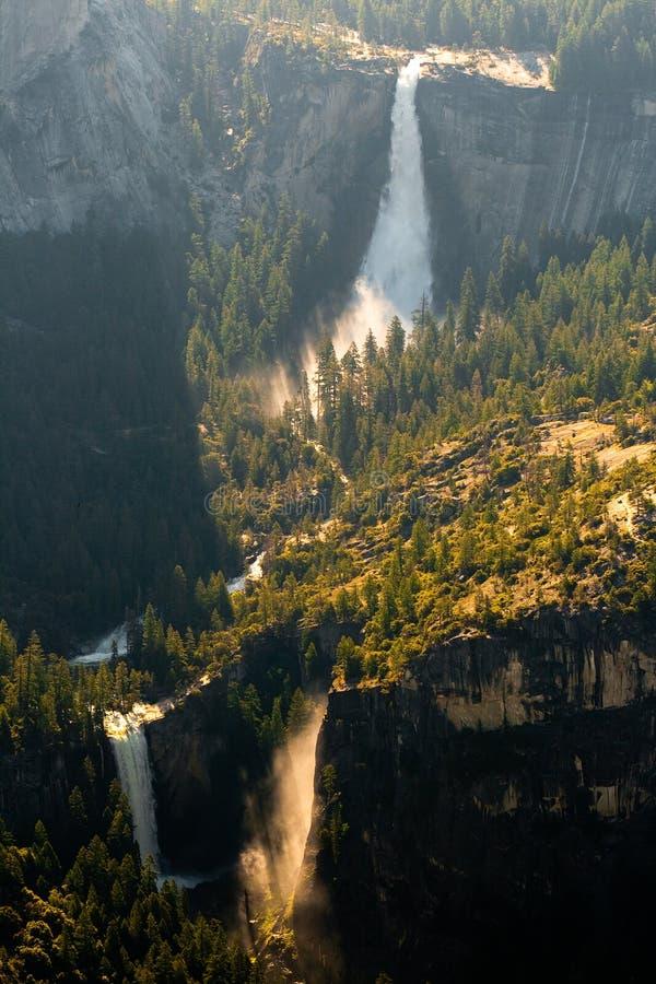 Download Waterfall In Yosemite National Park Stock Photo - Image: 18652712