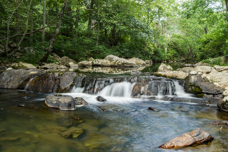 Waterfalls – Alleghany Mountains stock photography