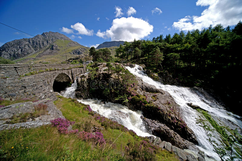 Download Waterfalls stock photo. Image of tryfan, north, range - 15783410