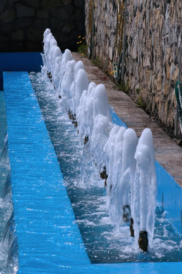 Download Waterfalls stock image. Image of town, pearl, gardens - 2796003