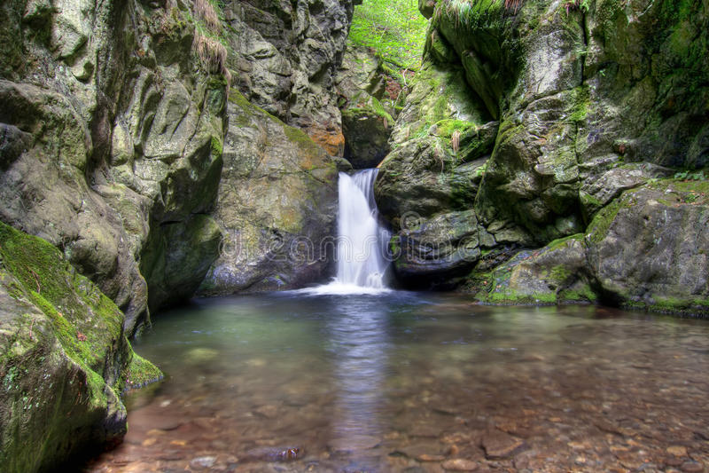 Download Waterfalls stock photo. Image of nyznerov, place, cataract - 28213350