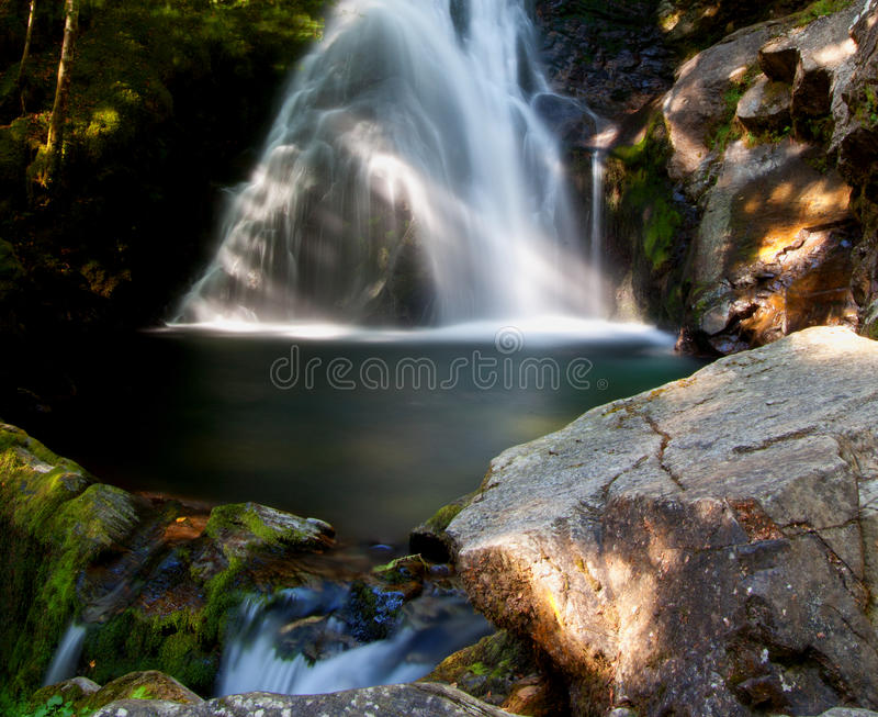 Waterfalls in Ariege - France. Waterfalls in Ariege - The Freyte - France stock image