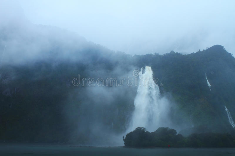 Download Waterfalls stock image. Image of rainstorm, ocean, dawn - 34500961
