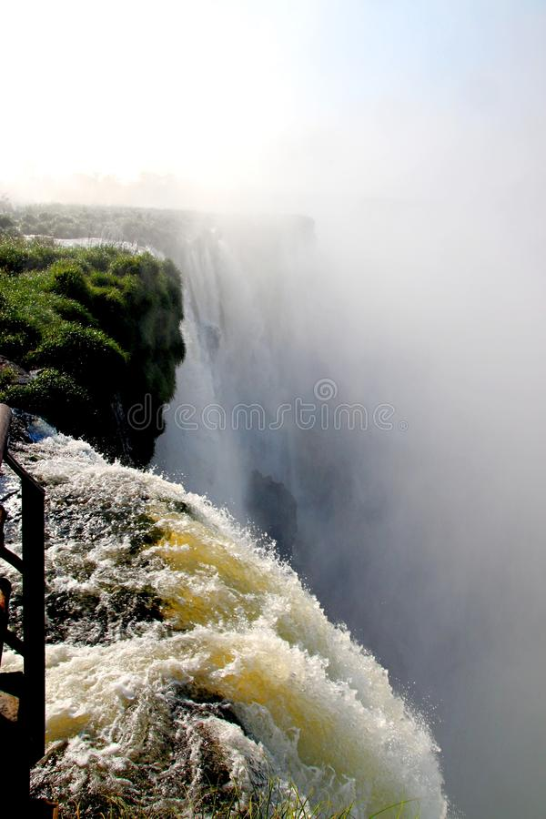 Waterfalls in Brasil 2. Amazing waterfalls in Brasil will charm any traveler stock photography