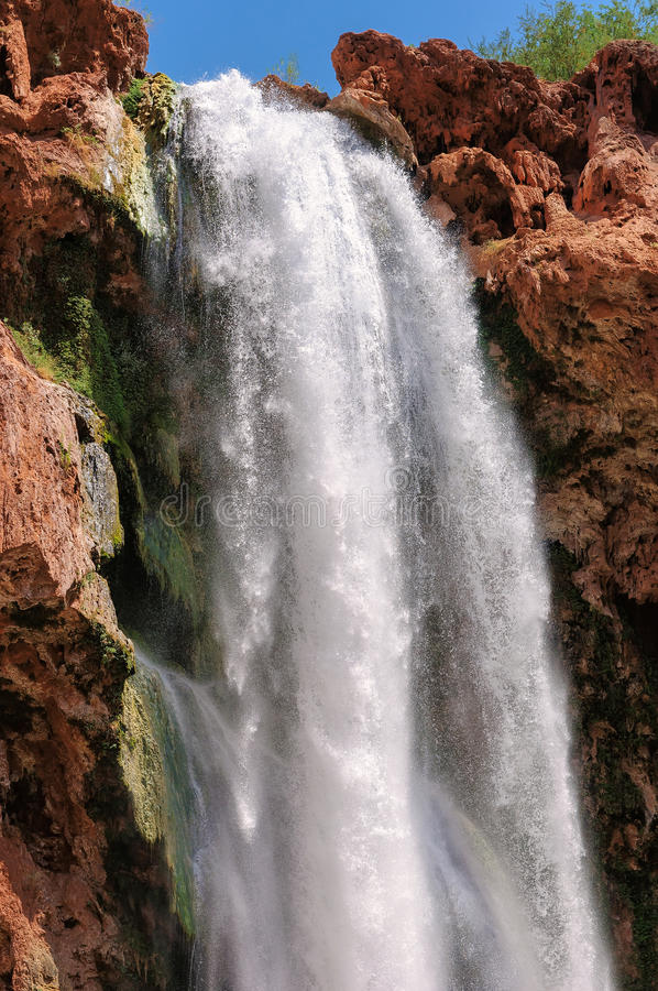 Waterfalls in the Grand Canyon, Arizona royalty free stock images