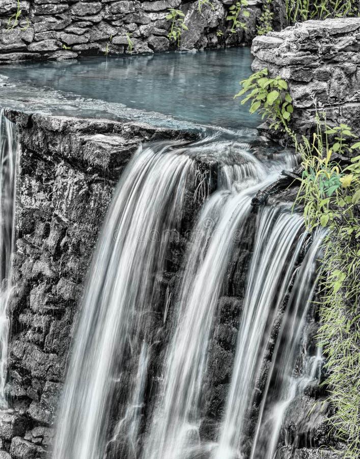 Waterfalls And Gray Stone Near Green Grass Free Public Domain Cc0 Image