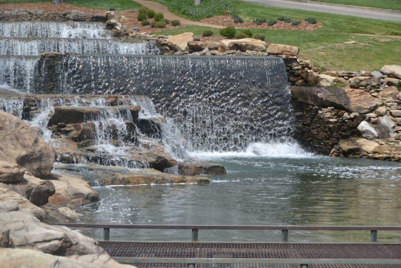 Waterfalls. Here is a Beautiful waterfall background stock photo