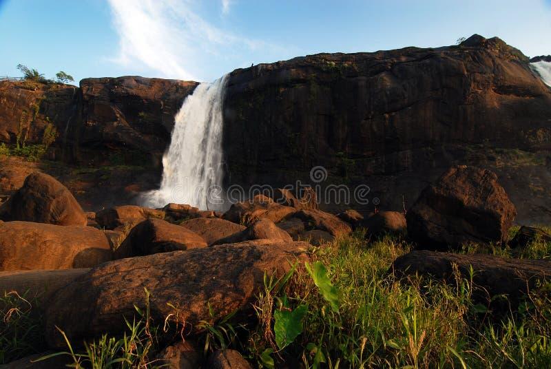 Waterfalls of Kerala royalty free stock photos