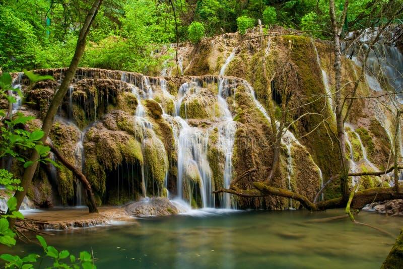 Waterfalls Krushuna royalty free stock images