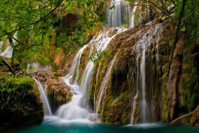Waterfalls Krushuna stock images