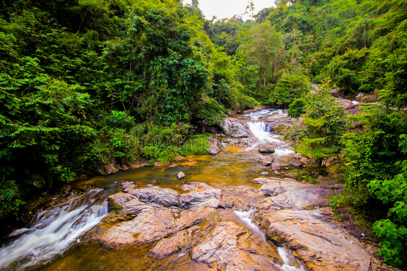 The waterfalls stock photography