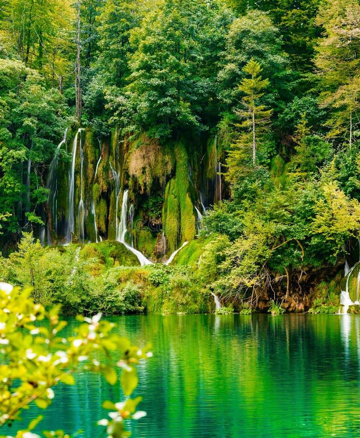 Free Waterfalls Of Plitvice Lakes National Park Stock Photo - 103638290