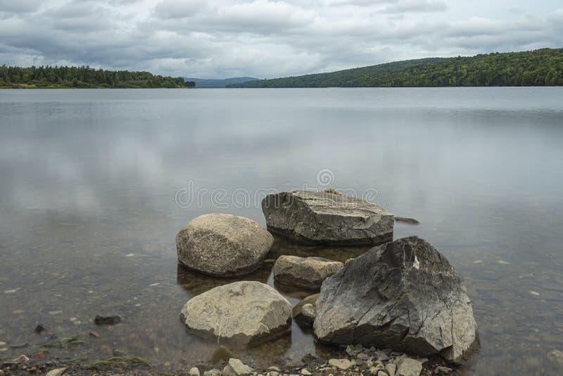 Howland Falls, Fredericton, NB stock photo