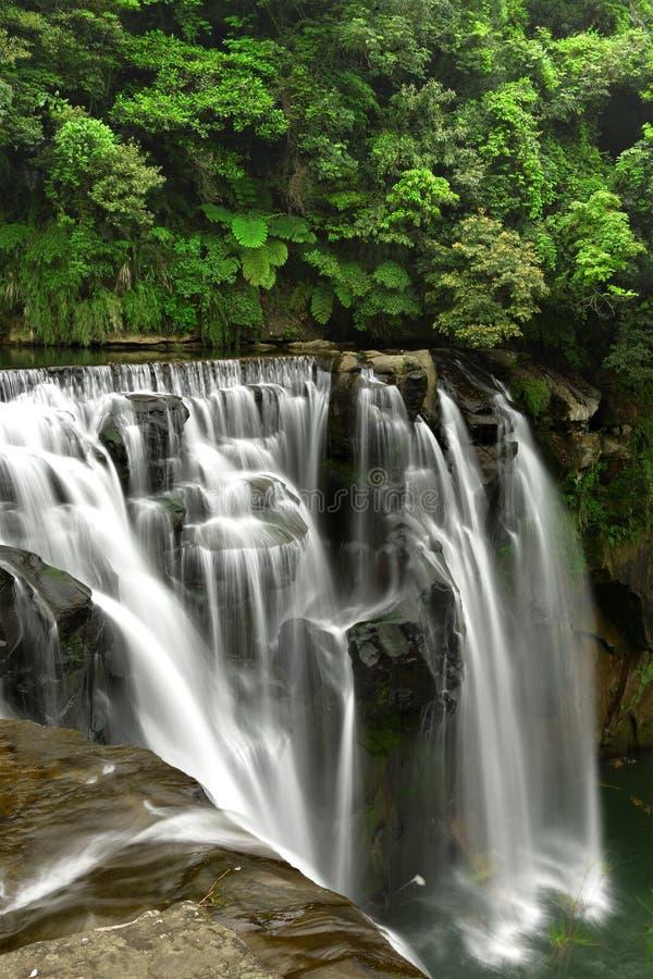 Download Waterfalls In Shifen Taiwan Stock Image - Image: 23254271