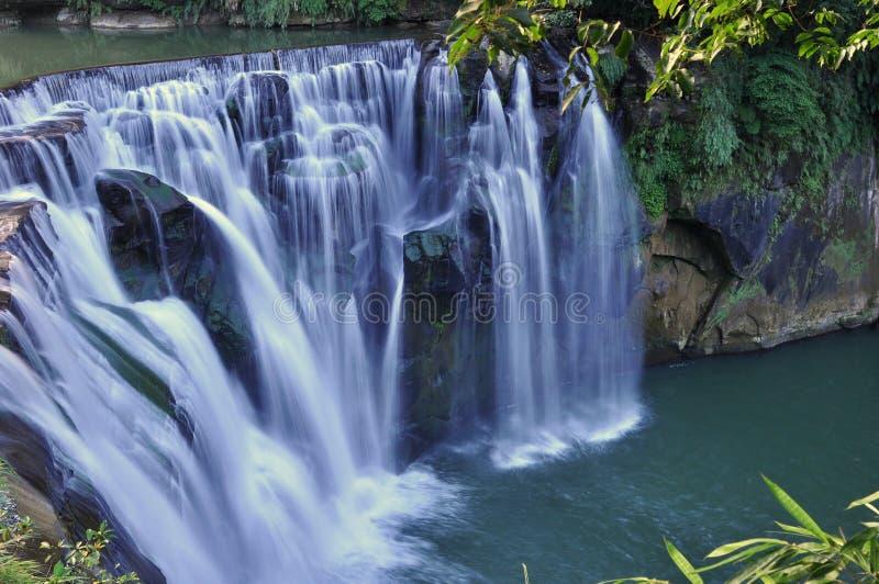 Waterfalls in Taiwan. Waterfalls of Shifen, in Taipei County, Taiwan royalty free stock photos