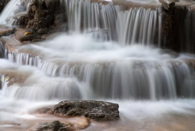 Waterfalls In Thailand Stock Photo