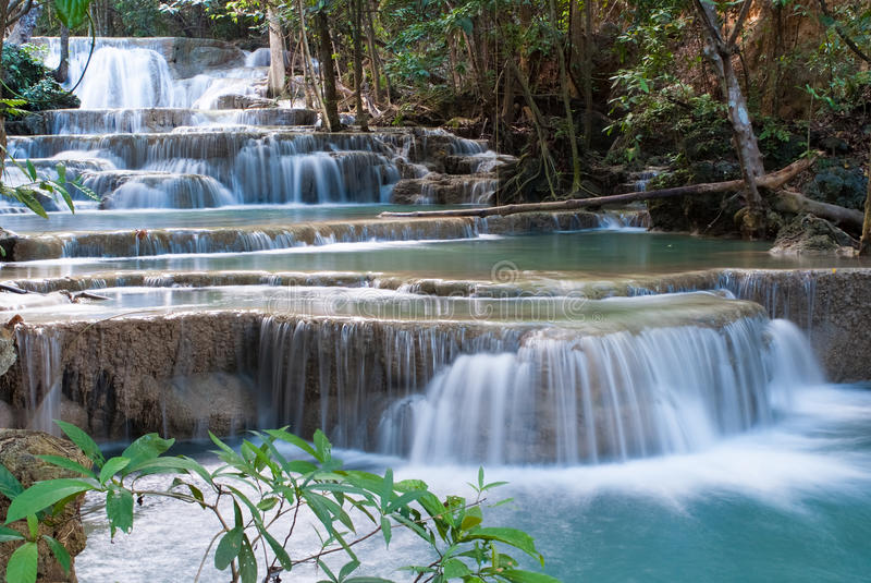 Download Waterfalls in Thailand stock image. Image of splash, forest - 43427551