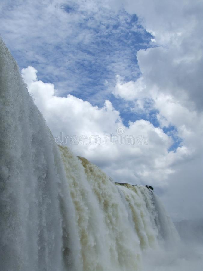 Waterfalls Under Blue Sky With White Clouds during Daytime stock photos