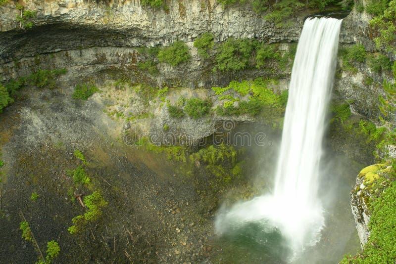 Waterfalls Whistler BC Canada Brandywine. Brandywine waterfall at Whistler, British Columbia stock photography