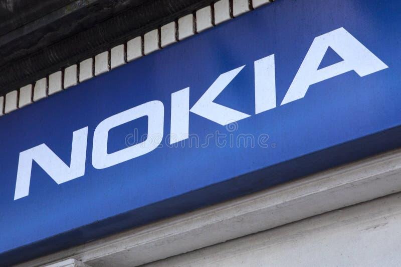 Nokia Logo stock images