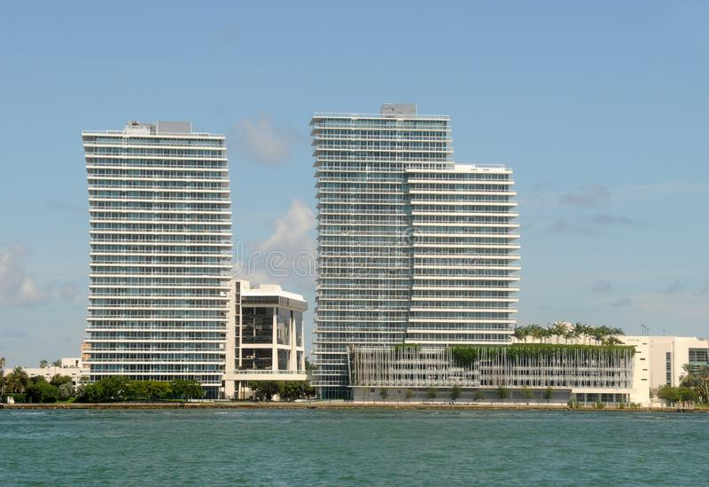 Waterfront apartments in Miami