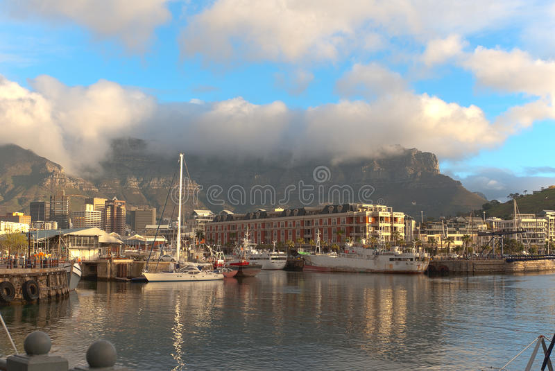 Waterfront. Cape Town stock image