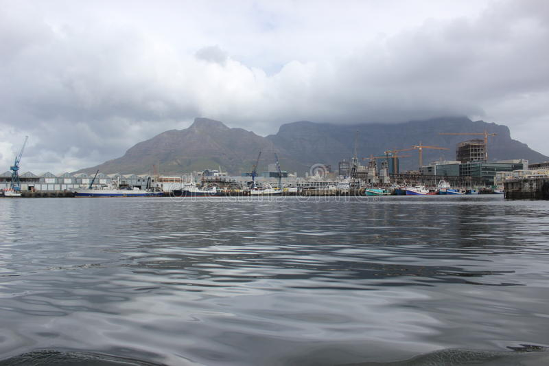 The Waterfront harbour in Cape Town South Africa royalty free stock photography