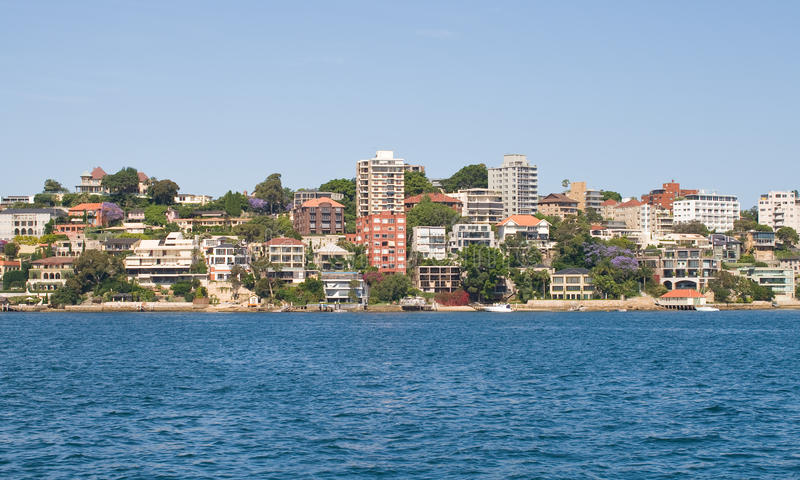 Download Waterfront Homes stock photo. Image of majestic, harbour - 23845374