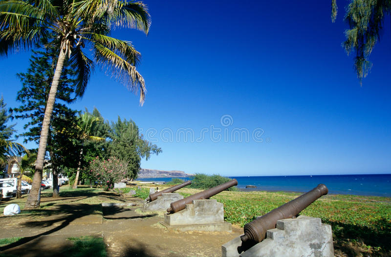 Waterfront At Saint Paul, Reunion Island Royalty Free Stock Photos
