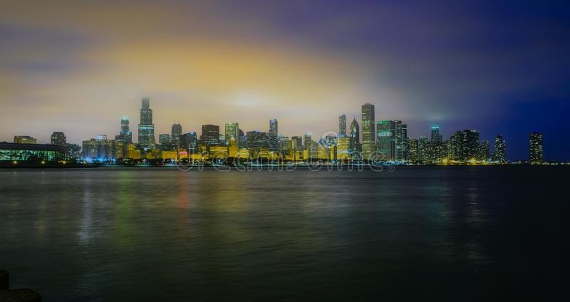 Waterfront Skyline At Dawn Free Public Domain Cc0 Image