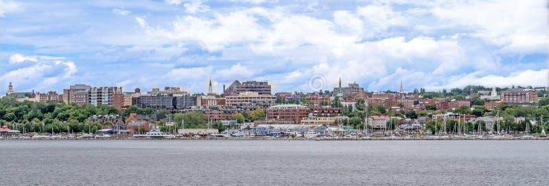 Waterfront van Burlington Vermont stock fotografie