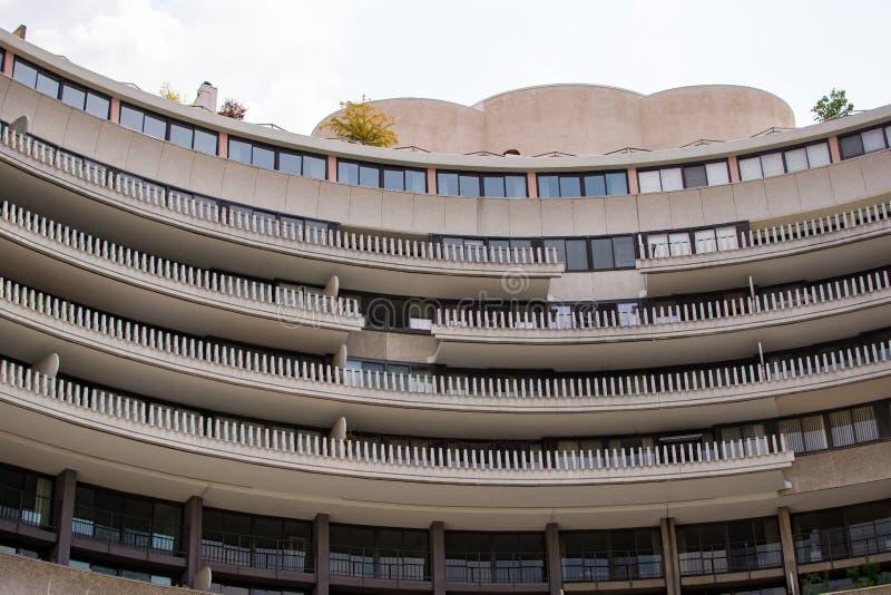 Watergate budynek w washington dc obrazy stock