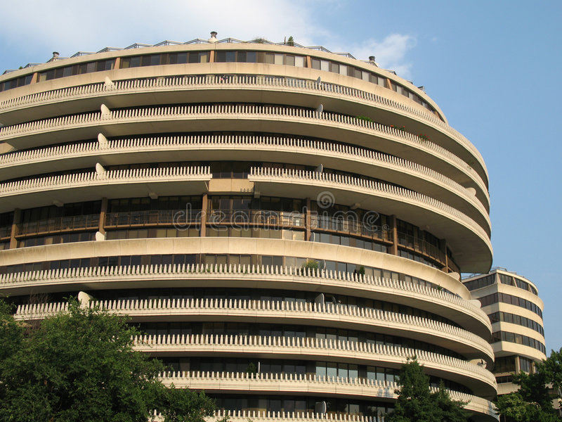 Watergate dans DC de Washington photo stock