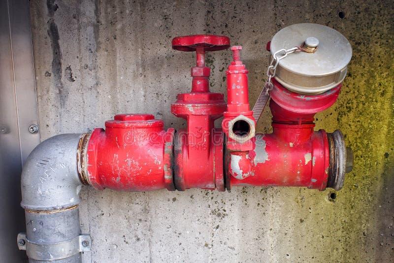 Watergehechtheid voor brandweerlieden stock foto's