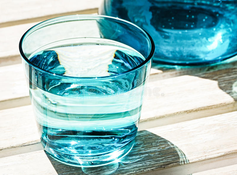 Waterglass royalty free stock image
