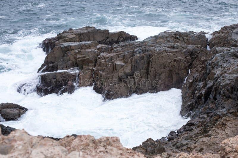 Watergolf in Kaap D ` Aguilar in Hong Kong royalty-vrije stock foto's