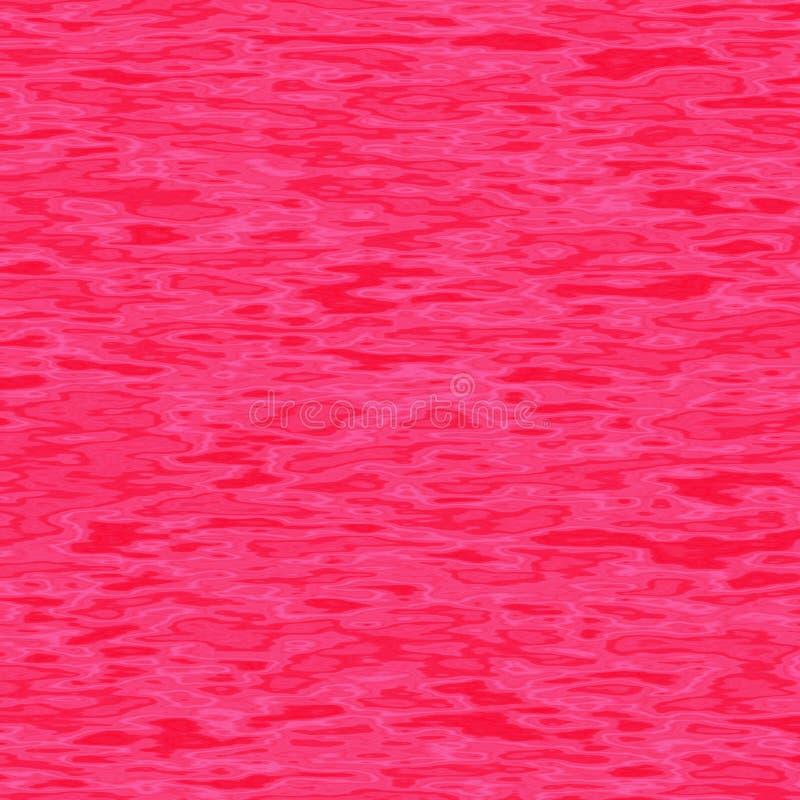 Watergolven in roze tinten Ontwerp en abstract beeld stock illustratie