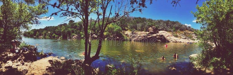 Waterhole διαβόλου στοκ εικόνες