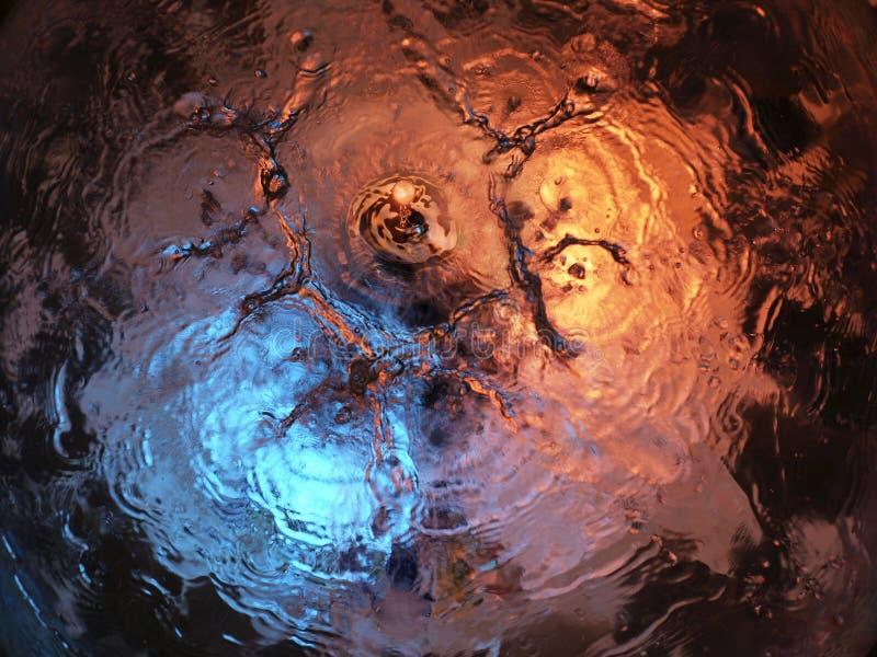 Waterige abstractie royalty-vrije stock afbeeldingen