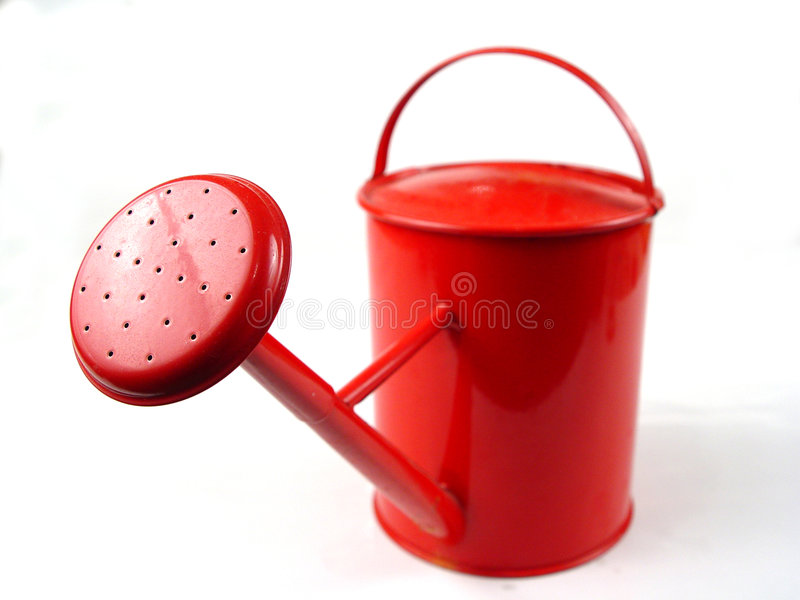 Watering-can royalty free stock image