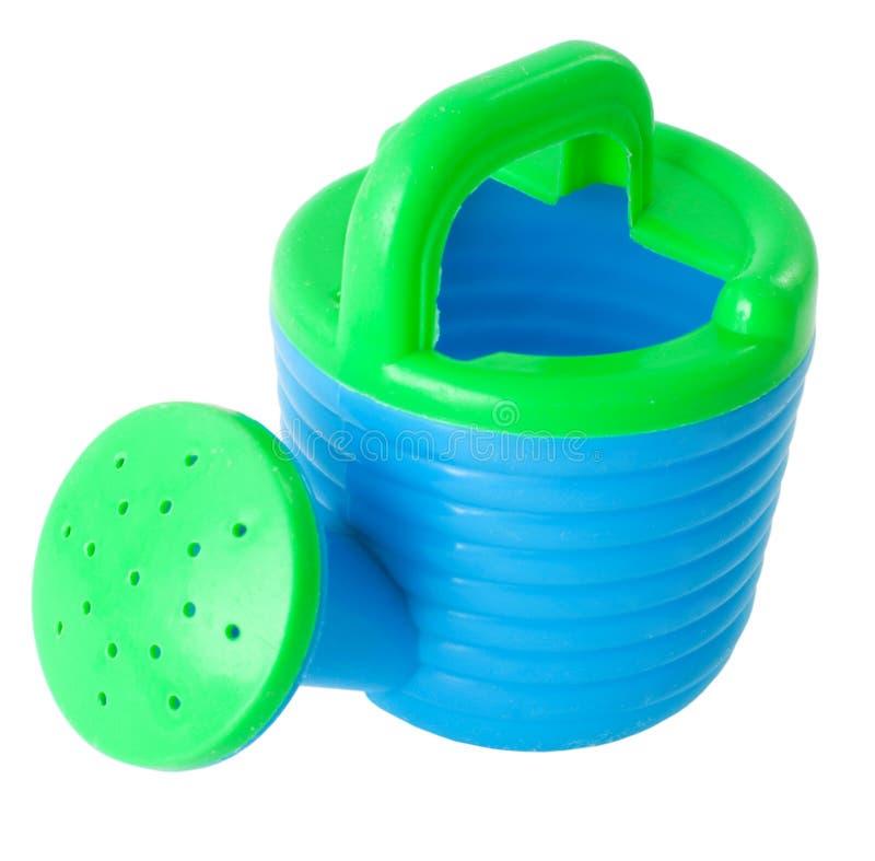 Watering-can do brinquedo foto de stock royalty free